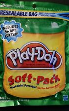 Play-Doh Soft-Pack 22403/22394 Green 8oz Brand New