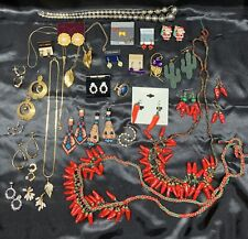 VINTAGE TO NOW NECKLACE & Earrings FASHION JEWELRY LOT ~ Southwest 🌶 + MORE!