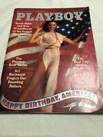 Playboy Magazine July 1976 Free Shipping With Centerfold In Good Condition