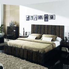Bettgestelle ohne Matratze aus Holz zum Zusammenbauen 180cm x 200cm