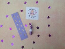 Fairy Footprints Stencil, Fairy Dust And Sticker - Idea For Tooth Fairy - Purple