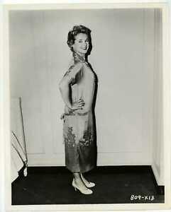 Mona Freeman 1955 Original Photo - Candid Showing Off Paris Fashion