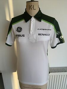 Caterham Renault F1 Team Polo T Shirt Size 3XS