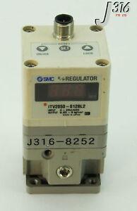 8252 SMC ELECTRO-PNEUMATIC REGULATOR ITV2050-012BL2