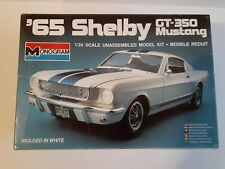 New Monogram '65 Shelby Gt-350 Mustang Model Kit 1:24 Scale