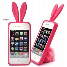 Bunny design TPU case for IPhone 4 4s