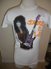 Ozzy Osbourne Vintage 1980's T Shirt Official Jake E Lee White Medium #1