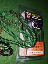 HOPPES.22 & 5.56m Caliber rifle Bore Snake barrel cleaner cleaning kit rope