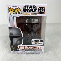 Funko Pop! Star Wars - The Mandalorian #345 - Amazon Exclusive Vinyl Bobble-Head
