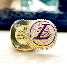 HOT Los Angeles Lakers 2020 FLIP TOP Championship Ring Official James ring