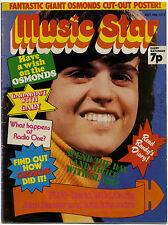 MUSIC STAR Magazine ✂ 14 Jul 1973 Carly Simon John Denver Gary Glitter Slade