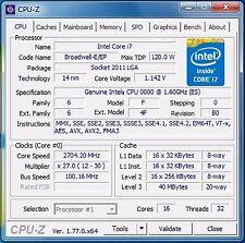 Intel Xeon E5-2683 v4 ES QH27 1.6GHz (2GHz) LGA2011-3 16C Compatible X99 i7-6950
