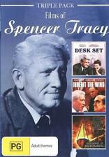 Films of Spencer Tracy: Triple Pack (Desk Set / Inherit t . - DVD - NEW Region 4
