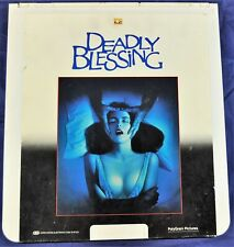 RCA VideoDisc CED - Deadly Blessing, 1981 Wes Craven Film - Polygram