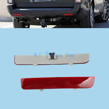 For Range Rover L322 Freelander 2 Rear Bumper Reflector Clear  Brake Light