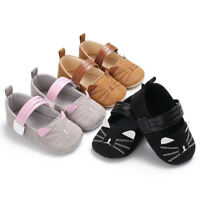 Sping Summer Baby Infant Kids Girl Soft Sole Crib Toddler Newborn Animal Shoes