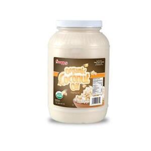 Popcorn Machine supplies - 1 Gallon Organic Coconut Oil