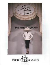 ▬► PUBLICITÉ ADVERTISING AD Pierre BALMAIN Ph. D. Bellemère Haute Couture 1993