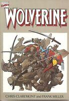 °WOLVERINE FIRST SOLO ADVENTURE 1-4° US Marvel 1988 Claremont-Miller Masterwerk
