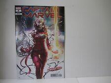 Captain Marvel #8 2019  Carnage-ized Variant  Cover HOT  hign grade   VF-NM