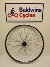 700c REAR DISC BRAKE Hybrid Bike Wheel D/ WALL - BLACK 8-9-10 Speed Cassette