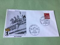 Germany Berlin Brandenburg Gate 1966 stamps cover  Ref 52244