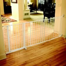 Regalo Super Wide Maxi Safety Gate, White