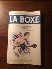 TOUS LES SPORTS N°1/Fred BRETONNEL/LA BOXE  1941 EO illustrations de Abel PETIT