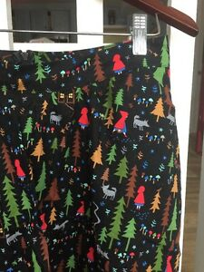 196. Modcloth Retrolicious Adorable Little Red Riding Hood Holiday Skirt M