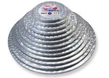 "PME 8 "" Inch Round Circle Cake Baking Drum Presentation Board Base 12mm Thick"