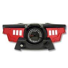 Polaris RZR XP 1000 Red Dash Panel 6 Switch Upgrade Racing Performance