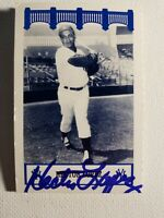 1992 The Wiz Hector Lopez Yankees 60's Auto Autograph Signed Rare 2x3 Card