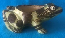 Brush McCoy Frog Planter