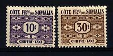 FRENCH SOMALI COAST - COSTA FRANCESE SOMALA - 1947 - Segnatasse -