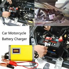 12V 2A Car Battery Charger Motorcycle Batteries Power Charge Adapter HQ