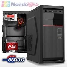 PC Computer AMD AM4 A8-9600 3,40 Ghz Quad Core - Ram 16 GB - HD 1 TB - USB 3.0