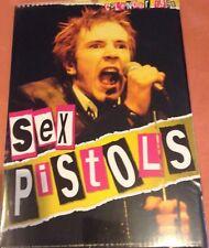 SEX PISTOLS rare   Calendar  Limited 1999 Calendar NEW sealed Johnny Rotten