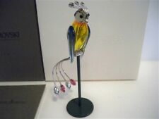 Swarovski Crystal Paradise Banamba Tropical Bird Retired 275570 Nib Coa