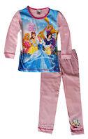 Disney Fille Princesse imprimé Pyjama Cauchemar Âge 1.5 pour 5 Ans