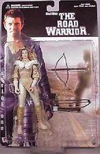Mad Max Road Warrior series 1 Gyro Captain + Warrior Woman figure~Mel Gibson~NIB