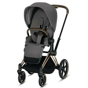 ** Seat Pack Only** CYBEX PRIAM LUX Seat Pack 2019 Model, Manhattan Grey Plus