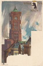 GERMANY: Rathaus,Berlin-undivided back - KLEY- NISTER