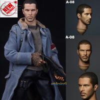 1/6 Scale Connor Head Sculpt Male Headplay F12'' Phicen Body Figure ZY Toy A-08
