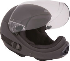 ~NEW~ PHANTOM XV ~ Full Face Skydiving Helmet from SQ1~ LARGE Flat Black