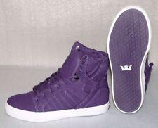 Supra SKYTOP S13025K HI Cut Junior Schuhe Freizeit Sneaker 37,5 UK4 Purple Weiß