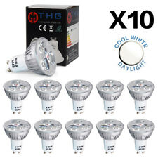 Pack of 10 4W LED Bulb GU10 Daylight Light Bulbs Spotlight Cool White 6500K A++