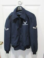 Wool Blend Blue Jacket w/ Liner Official Air Force sz 42L Long USAF DSCP 42 VGC