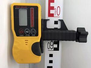 Universal Handempfänger für Rotationslaser mit Roten Laser-Strahl Baulaser