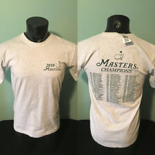 2010 The Masters PGA Golf Champions Shirt Mens Small Made in USA New with Tag