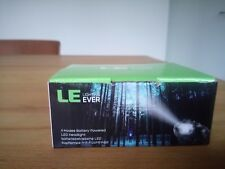Stirnlampe Lighting Ever- LED Schwarz,Wasserdicht